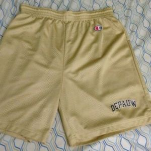 Vintage 80s 90s Champion Depaul Basketball Shorts